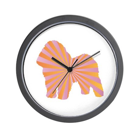 Bolognese Rays Wall Clock