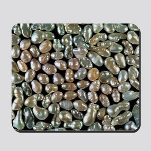 Cultured freshwater pearls Mousepad