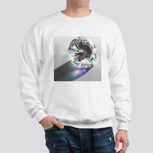 Cut Diamond with Colour Refractions Sweatshirt