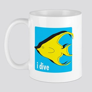 i dive -angelfish Mug