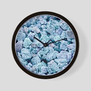 Fluorescent light bulb powder, SEM Wall Clock