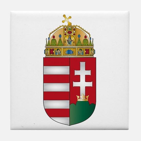 Hungary Tile Coaster