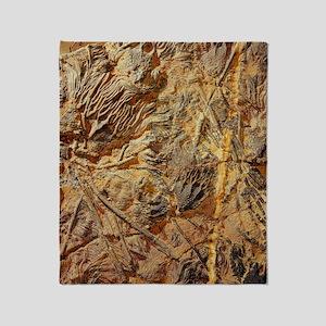 Crinoid fossils Throw Blanket