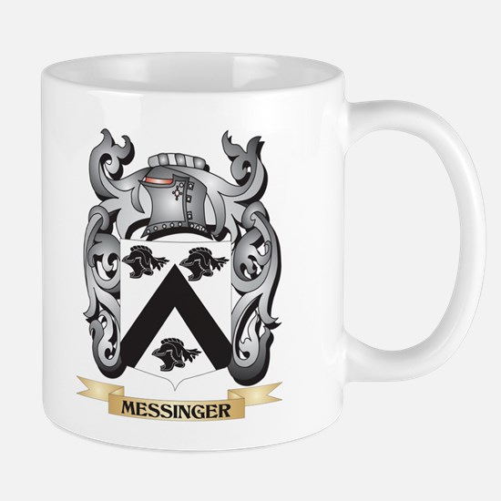 Messinger Coat of Arms - Family Crest Mugs