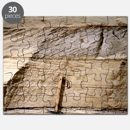 Cross-bedded sand layers Puzzle