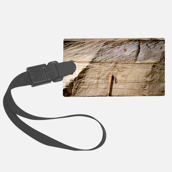 Cross-bedded sand layers Luggage Tag