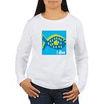 i dive - reef fish Women's Long Sleeve T-Shirt
