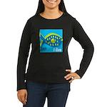 i dive - reef fish Women's Long Sleeve Dark T-Shir
