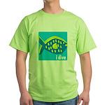 i dive - reef fish Green T-Shirt