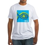 i dive - reef fish Fitted T-Shirt