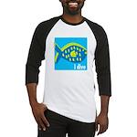 i dive - reef fish Baseball Jersey