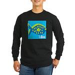 i dive - reef fish Long Sleeve Dark T-Shirt