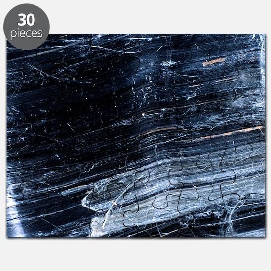 Crocidolite asbestos mineral Puzzle