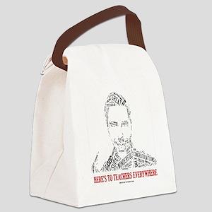 Great Male Teacher Canvas Lunch Bag