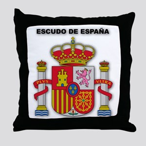Escudo de España Throw Pillow
