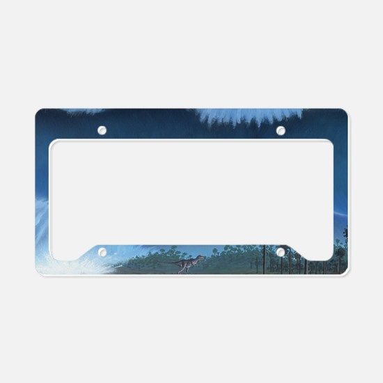 Cretaceous-Tertiary extinctio License Plate Holder