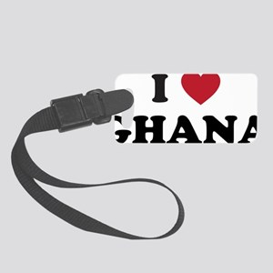 I Love Ghana Small Luggage Tag