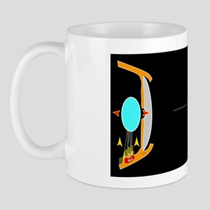 Eye lens and accommodation, artwork Mug