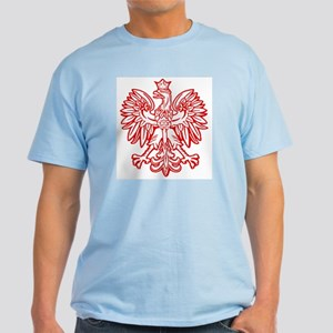 Polish Eagle Emblem Light T-Shirt
