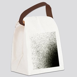Entropy shown by dissipation Canvas Lunch Bag