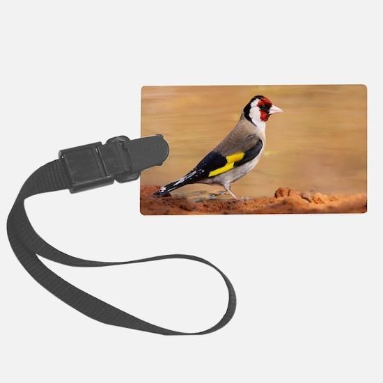 European Goldfinch Luggage Tag