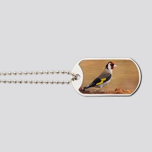 European Goldfinch Dog Tags