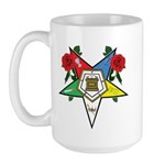 OES Roses for sisters Large Mug