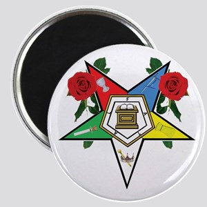 OES Roses for sisters Magnet