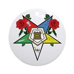 OES Roses for sisters Ornament (Round)