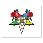 OES Roses for sisters Small Poster