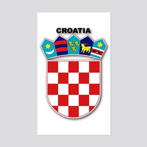 Croatia Rectangle Sticker