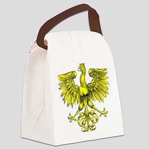 Yellow Phoenix Canvas Lunch Bag