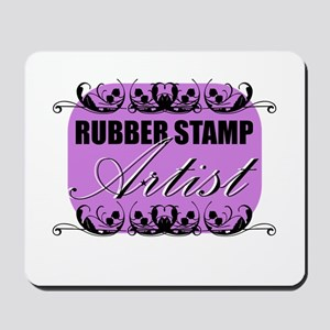 Rubber Stamp Artist Mousepad