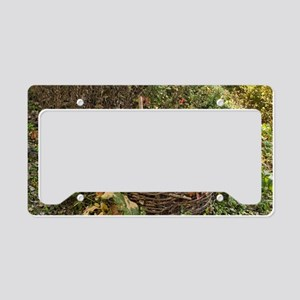 Compost container License Plate Holder