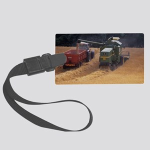 Combine harvester Large Luggage Tag