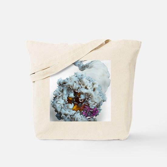 Ebola virus, molecular model Tote Bag