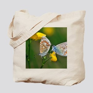 Common Blue Butterflies Tote Bag
