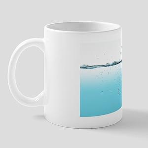 Drowning Earth, conceptual image Mug