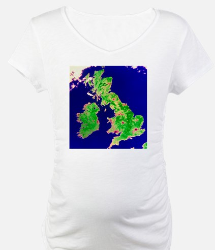 Coloured satellite image of the  Shirt