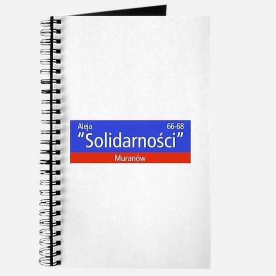 "Aleja ""Solidarnosci"", Warsaw (PL) Journal"