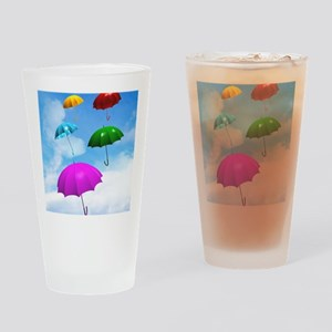 Climate change Drinking Glass