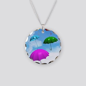 Climate change Necklace Circle Charm