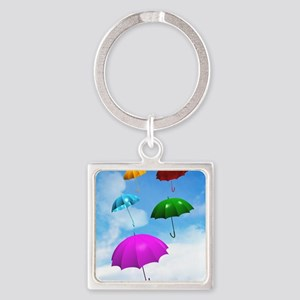 Climate change Square Keychain