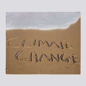 Climate change, conceptual image Throw Blanket