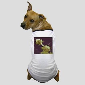 Dividing cancer cells, SEM Dog T-Shirt
