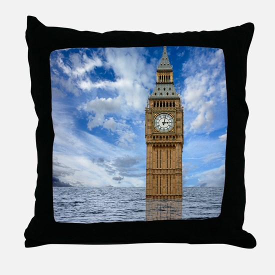 Climate change, conceptual image Throw Pillow
