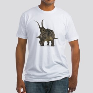 Diabloceratops dinosaur Fitted T-Shirt