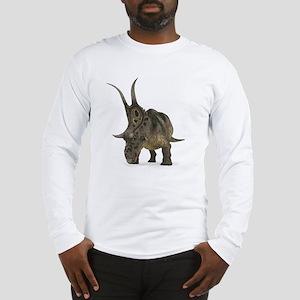 Diabloceratops dinosaur Long Sleeve T-Shirt