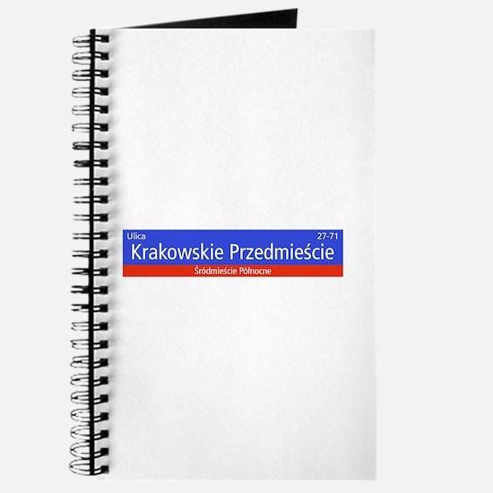 Krakowskie Przedmiescie, Warsaw (PL) Journal