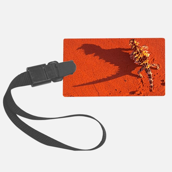 Desert adapted Thorny Devil Aust Luggage Tag